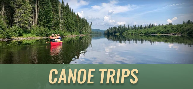 Canoe Trips at Tylor Kelly Camps